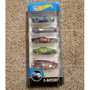 Hot Wheels Cars X-Raycers 5 Pack